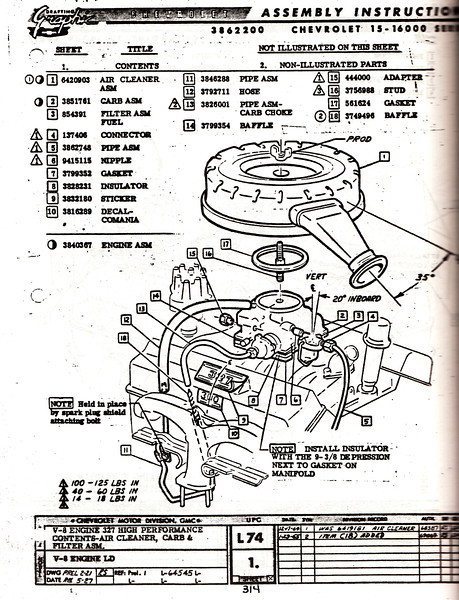 AM 314 L detail pics of an original 327 300 engine? chevytalk free Fuel Injector Diagram at webbmarketing.co